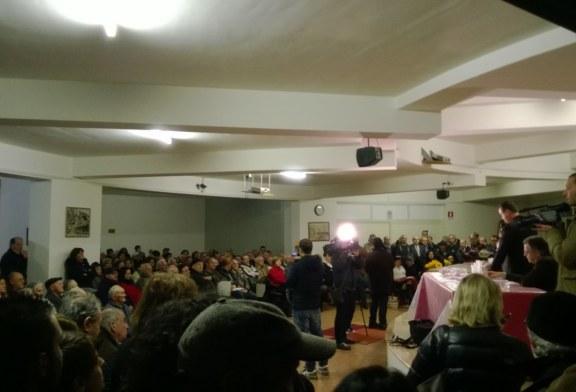 Impressioni sulla riunione in difesa dell'ospedale Ss Rosario del 15-01-2014