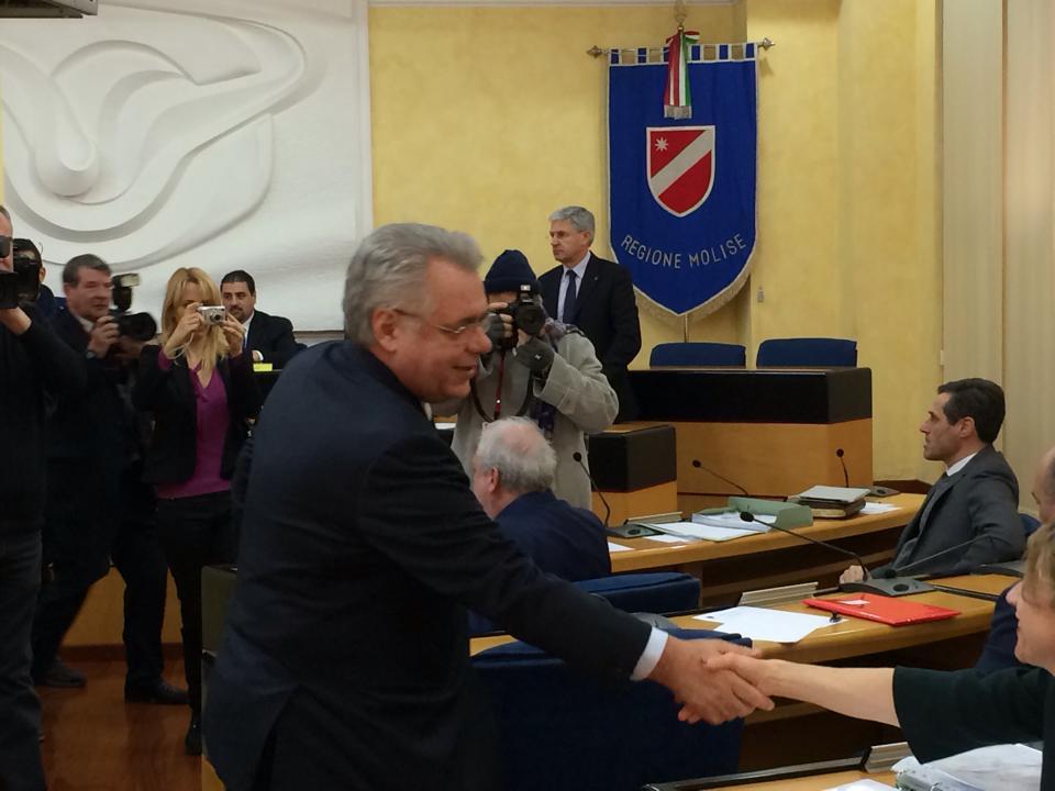 """Photo of Il ritorno di Michele Iorio in Consiglio regionale.""""Pronto a dare il mio contributo per risolvere le emergenze"""""""