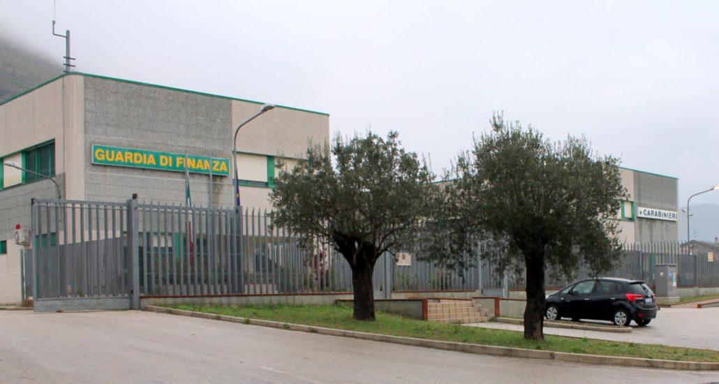 cittadella militare venafro finanza carabinieriù