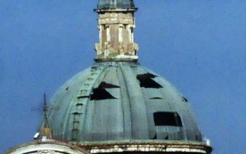La cupola dell'Annunziata se ne sta volando e al Comune di Venafro la cosa interessa poco.