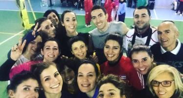 Il libero della nazionale Rossini fa una sorpresa al Venafro Volley