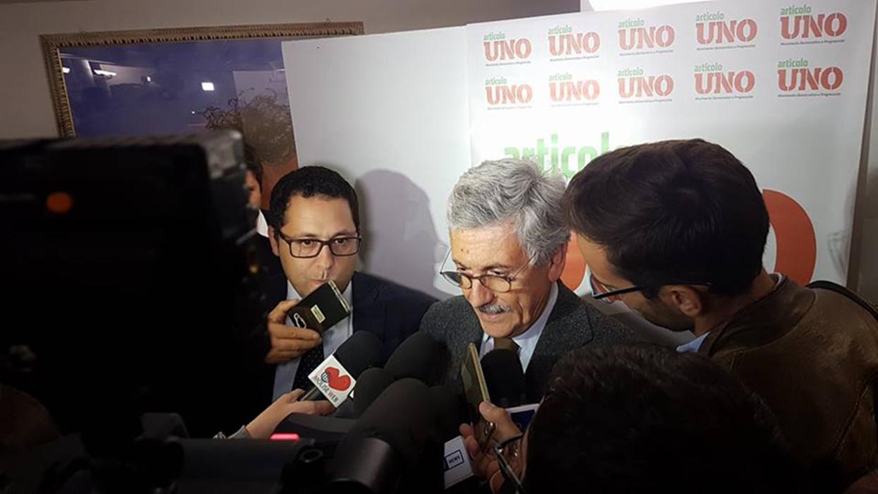 """Photo of D'Alema, legge elettorale: """"Uno schiaffo agli italiani"""" e su Frattura: """"Il suo sarà il primo e ultimo mandato"""""""