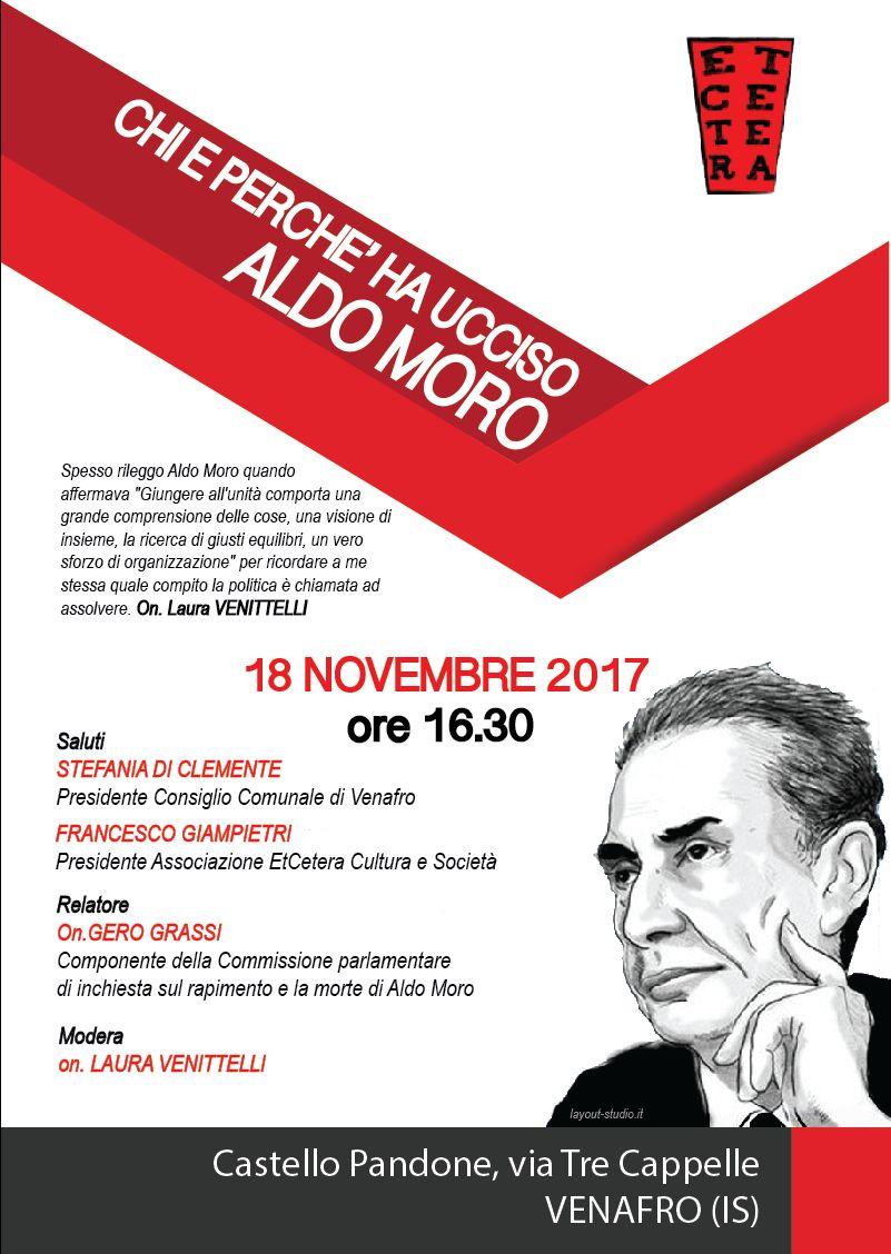 Photo of Appuntamento con la cultura a Venafro: al Pandone l'onorevole Gero Grassi sul caso Aldo Moro