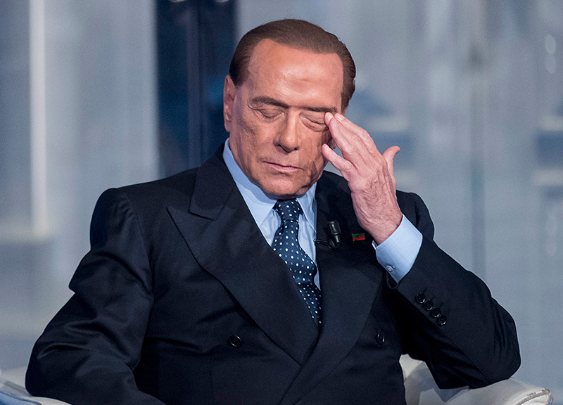 Photo of Berlusconi incandidabile, Ue deciderà dopo l'estate 2018. Choc in Forza Italia