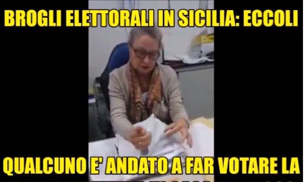 Photo of BROGLI ELETTORALI IN SICILIA… ECCO LA PROVA! ASSURDA VERITA' DA FAR VEDERE A TUTTI