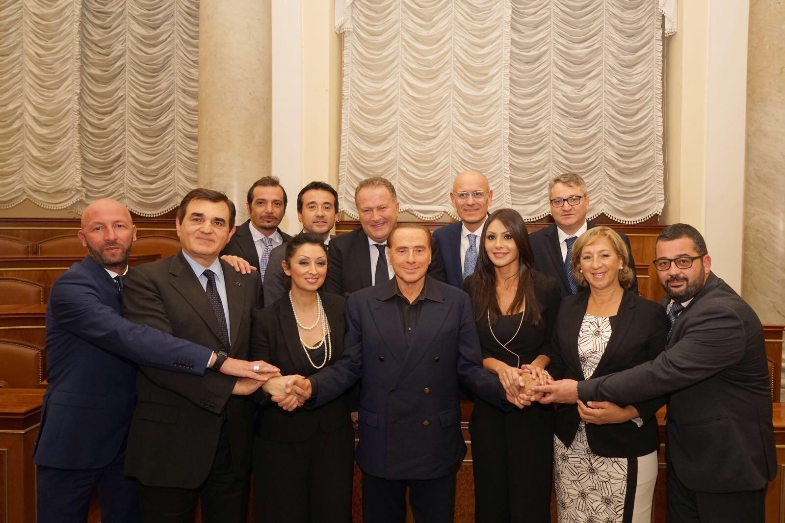 Photo of Forza Italia, delegazione molisana a Palazzo Grazioli