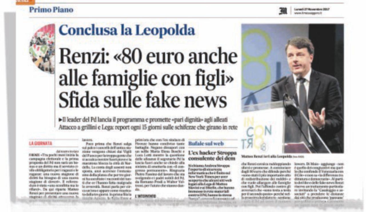 """Photo of Gli 80 euro """"alle famiglie"""": 7 miliardi di euro da trovare per coprire l'ultima promessa"""
