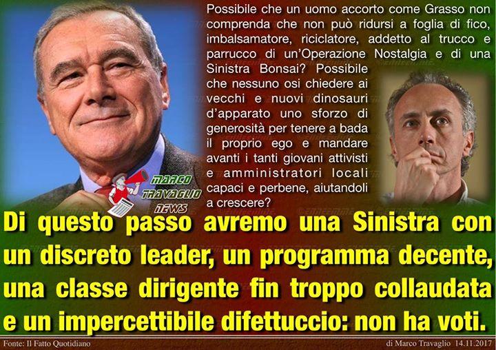 Photo of Grasso bonsai  Editoriale di Marco Travaglio da Il Fatto Quotidiano 14 novembre …