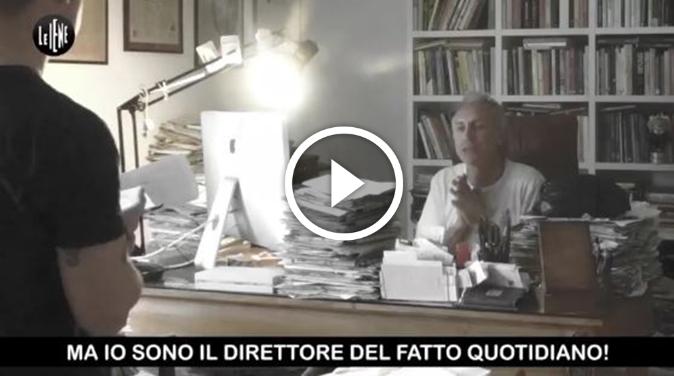 Photo of VIDEO | Travaglio a Le Iene: 'Li schifo, li sputo in faccia, sono la feccia dell'Italia'