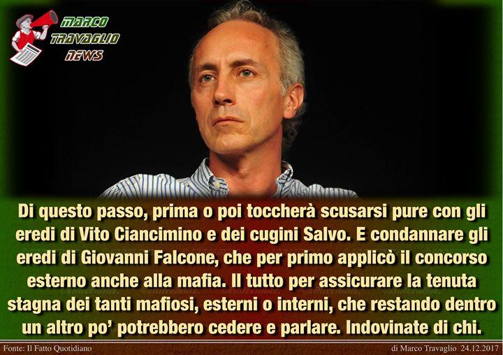 Photo of È rimorto Falcone  Editoriale di Marco Travaglio da Il Fatto Quotidiano  24 dice…