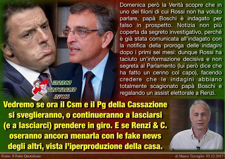 Photo of Er Mattonella  Editoriale di Marco Travaglio da Il Fatto Quotidiano  5 dicembre …