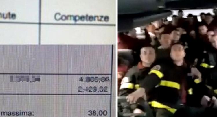 """Photo of L'amara sorpresa in busta paga per i pompieri del Rigopiano e del sisma """"più tasse che stipendio"""""""