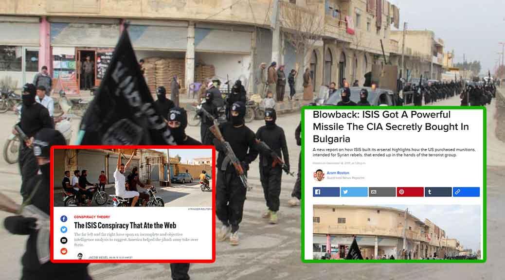 Photo of Le armi passano di mano dalla CIA all'ISIS in meno di due mesi