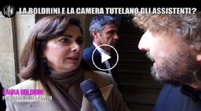 Photo of Le Iene braccano Laura Boldrini sul caso dei portaborse in nero alla Camera VIDEO