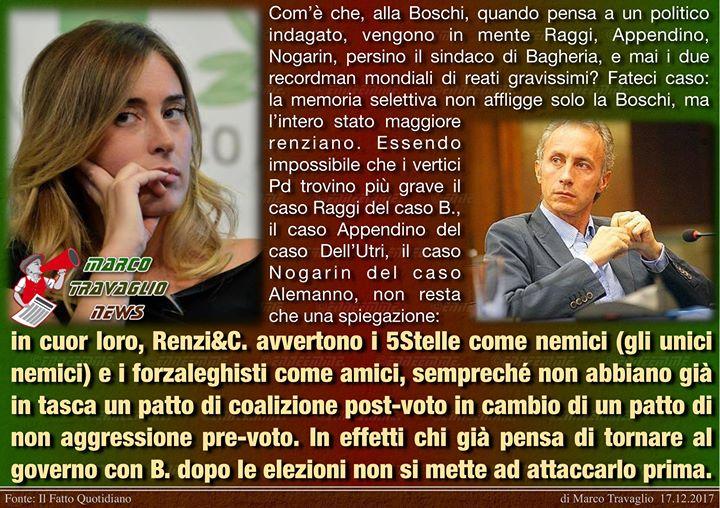 Photo of Renzichè  Editoriale di Marco Travaglio da Il Fatto Quotidiano  17 dicembre 2017…
