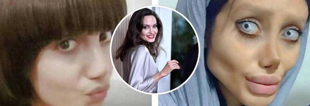 Photo of Sahar Tabar si sottopone a 50 interventi per assomigliare ad Angelina Jolie – Notizie.it