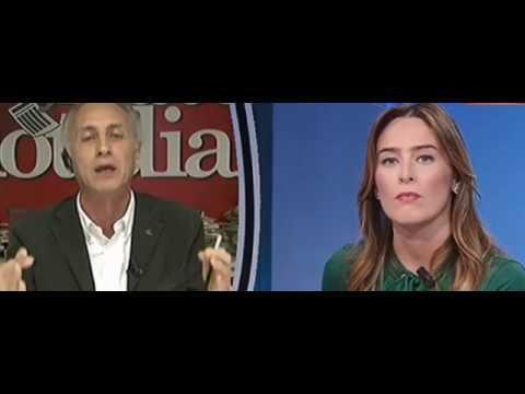 """Photo of Travaglio vs Boschi: """"In un Paese serio la sua carriera politica finirebbe oggi!…"""