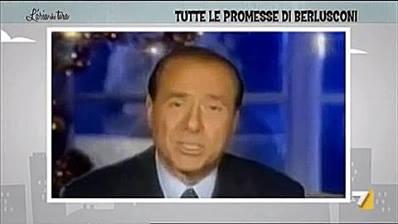Photo of Ecco le grandi promesse di Berlusconi. Come le promette lui non le promette ness…