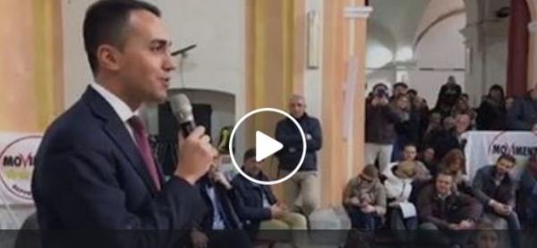 """Photo of M5s, Di Maio a Berlusconi: """"Se vinciamo vai in Russia? Il biglietto te lo facc…"""" ECCO IL VIDEO"""