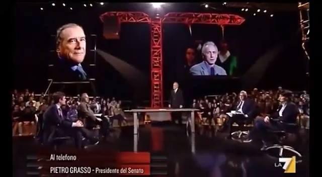Photo of Signore e signori ecco a voi Pietro Grasso. Lo fanno passare come l'alternativa …