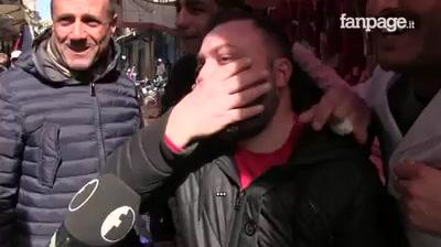 Photo of Ai napoletani è stato comunicato che Matteo Salvini sarebbe arrivato in città. H…