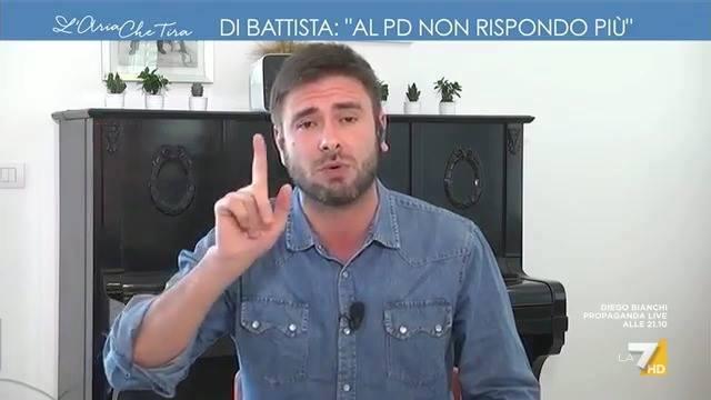 Photo of Avete visto Alessandro Di Battista poco fa a L'aria che tira La7? INARRESTABILE!…