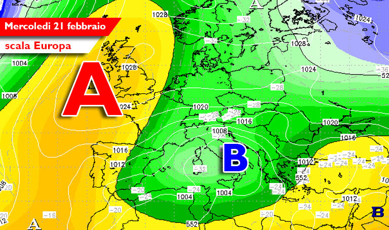 Photo of Meteo, probabili nevicate a quote basse