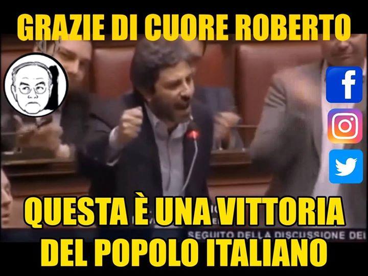 Photo of Chi è Roberto Fico?   Roberto è un ragazzo preparatissimo e coraggioso, sensibil…