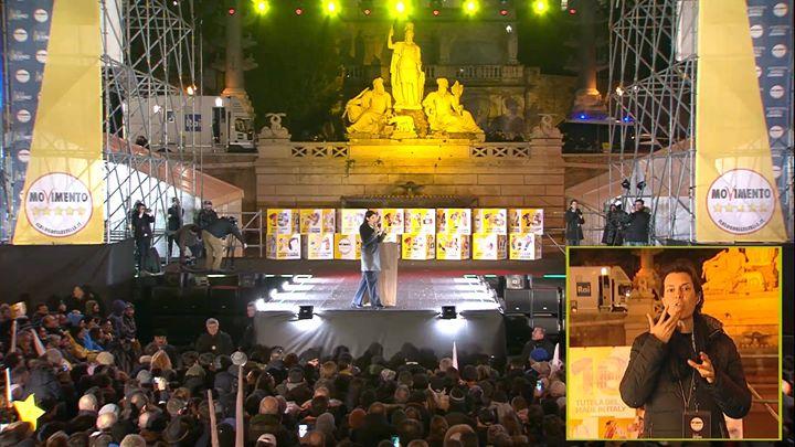 Photo of CI SIAMO! In diretta da Piazza del Popolo a Roma!  Collegatevi!