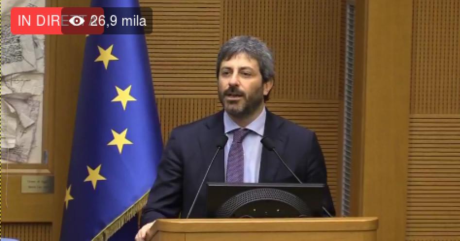 Photo of DIRETTA: Il nostro candidato alla Presidenza della Camera del MoVimento 5 Stelle è Roberto Fico
