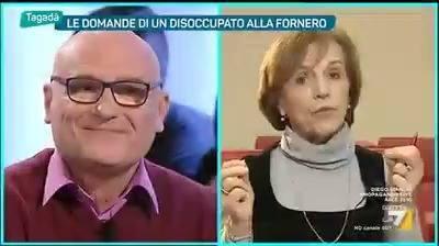 Photo of Mauro, disoccupato 60enne, a Elsa Fornero. Ha rovinato la vita a milioni di pers…
