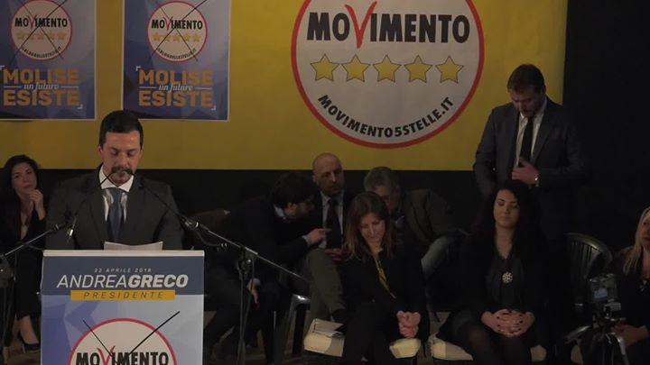 Photo of Presentazione Angelo Primiani  Presentazione consiglieri regionali M5S Molise 26…