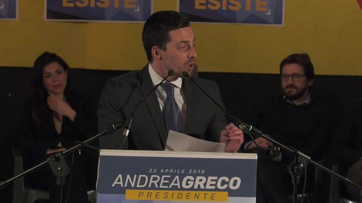 Photo of Presentazione  Fabiohead De Chirico  Presentazione consiglieri regionali M5S Mol…