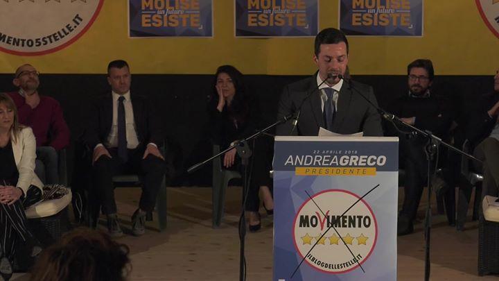 Photo of Presentazione Marco Leva Presentazione consiglieri regionali M5S Molise 26.03.18…