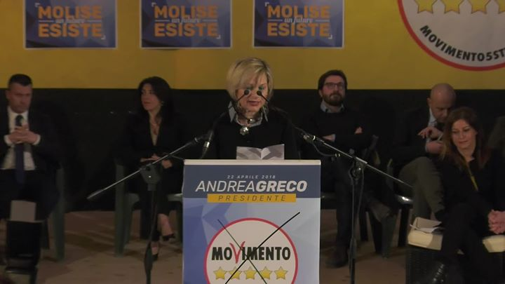 Photo of Presentazione Pina Laezza  Presentazione consiglieri regionali M5S Molise 26.03….