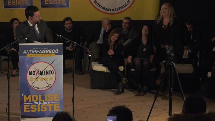Photo of Presentazione Rita Santoro Criacci Presentazione consiglieri regionali M5S Molis…