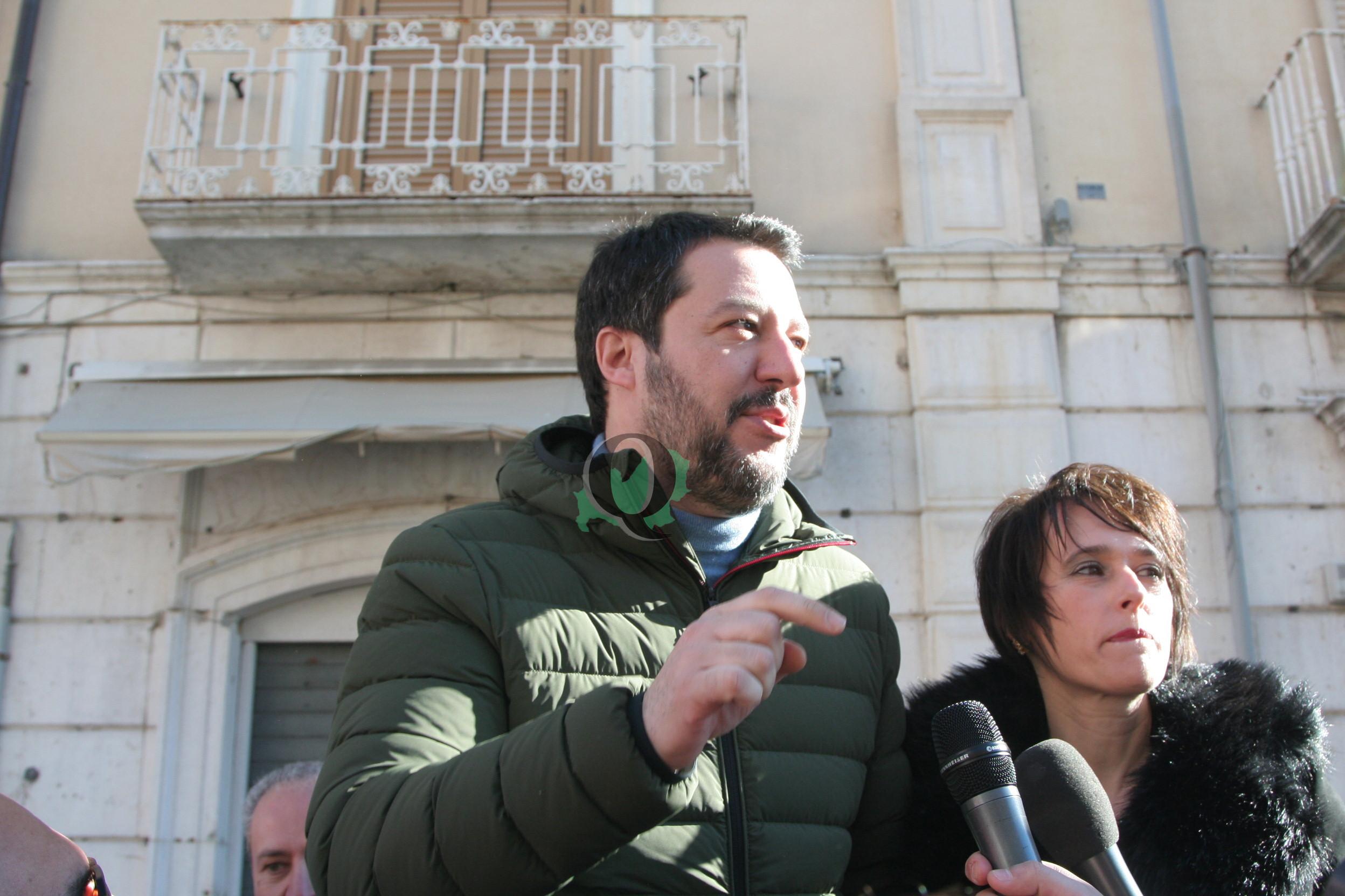 Photo of Salvini torna in Molise, il 28 marzo sarà a Venafro e Isernia