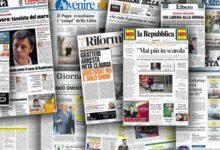 Photo of MEDIA & REGIME 'Ndrangheta, la maxi-operazione scompare dalle prime pagine dei grandi giornali: niente su Stampa e Repubblica, un box sul Corriere